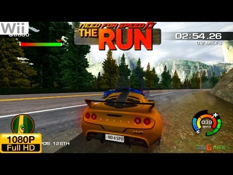 need for speed the run wii gameplay 1080p dolphin gc. Black Bedroom Furniture Sets. Home Design Ideas