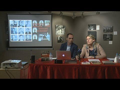 """Xerrada """"Andorrans als camps de concentració nazis"""" dels periodistes Roser Porta i Jorge Cebrián"""