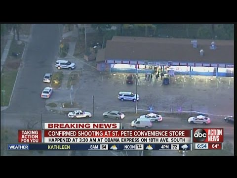 BREAKING: Guards shoot, kill armed man inside Obama Express Food Market convenience store