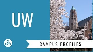University of Washington Seattle - UW - overview by American College Strategies after a campus tour