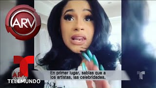 Cardi B se defiende de quienes la acusan de extravagante | Al Rojo Vivo | Telemundo
