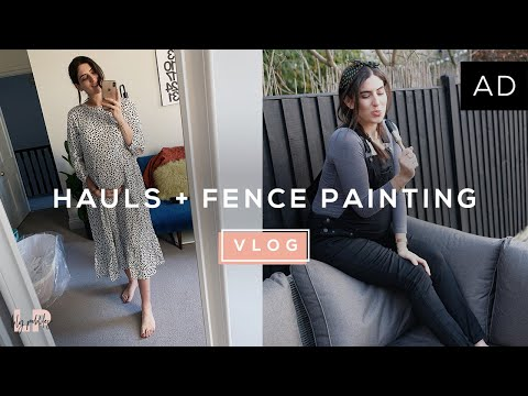 Beauty, Style Haul & Painting Fences! | Lily Pebbles