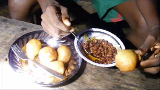 Breakfast Or Dinner = Puff-puff And Beans, Cameroon Dish