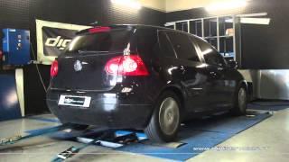 * Reprogrammation Moteur * VW Golf 5 1.9 tdi 105cv @ 138cv Dyno Digiservices Paris