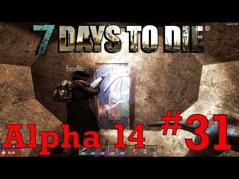 31 the secret bomb shelter 7 days to die alpha 14 youtube. Black Bedroom Furniture Sets. Home Design Ideas