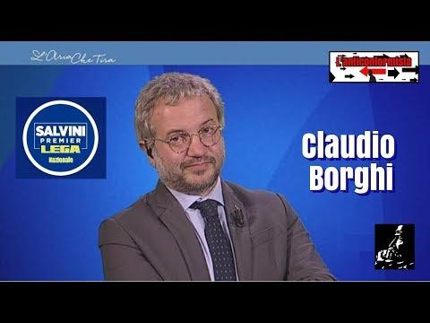 """🔴 Interventi di Claudio Borghi a """"L'aria che tira"""" del 07/12/2017"""