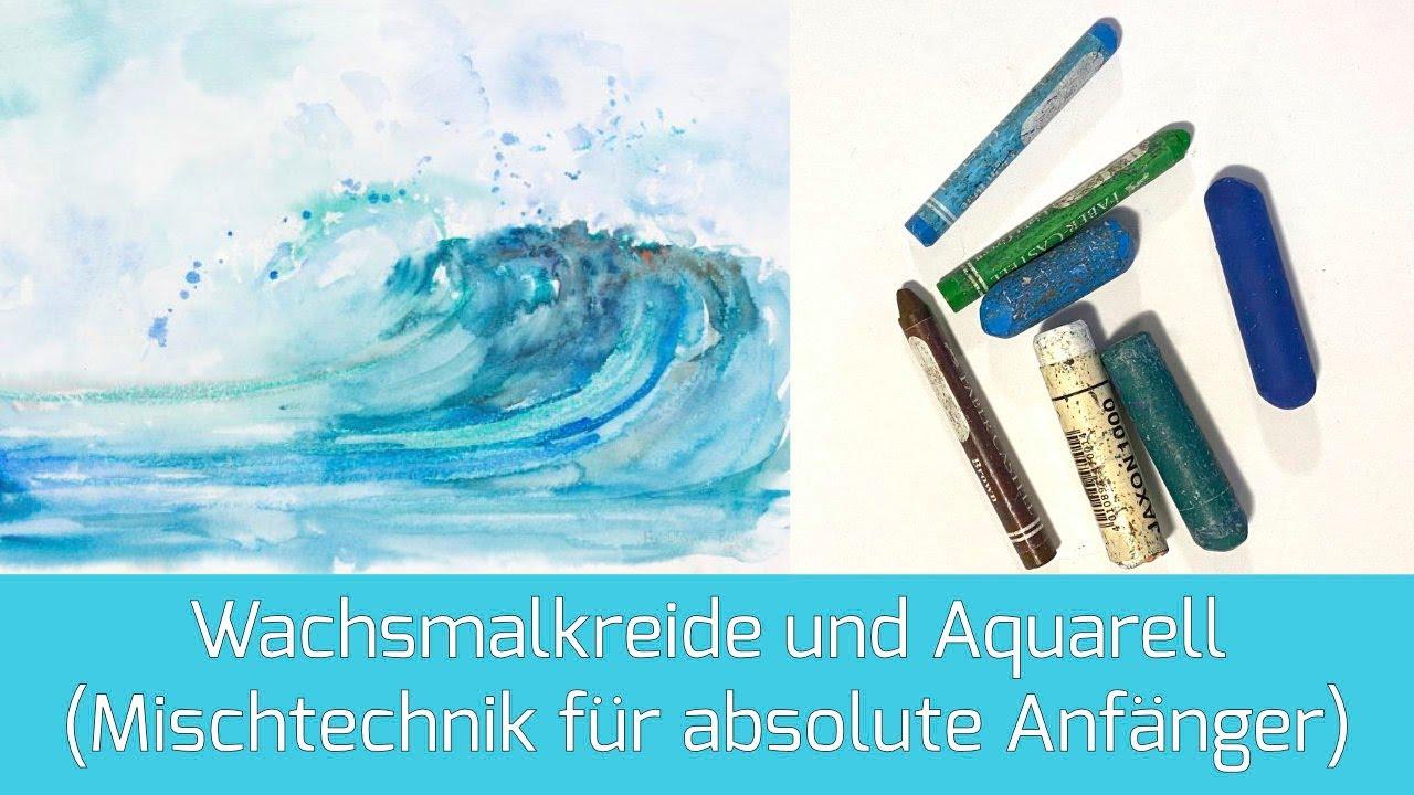 Tutorial Watercolor Jellyfish Aquarell Qualle 7