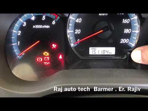 Toyota innova,Fortuner how to reset timing belt