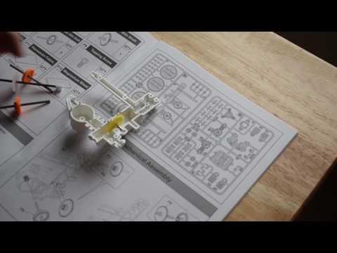 model salt water fuel cell engine car part 1