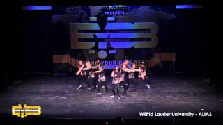 BYOB PS 2015 - Wilfrid Laurier University -  ALIAS