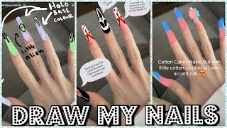 Subscribers Draw My Nail Designs