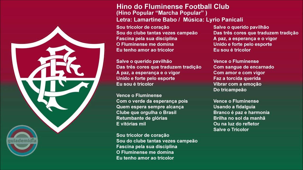 d3c144684 Hino do Fluminense Football Club ( Hino Popular ) - YouTube