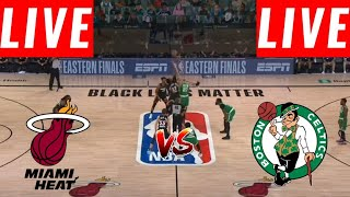 [LIVE] Boston Celtics vs Miami Heat FULL GAME | Game 5 East Conf Finals | NBA Playoff 2020