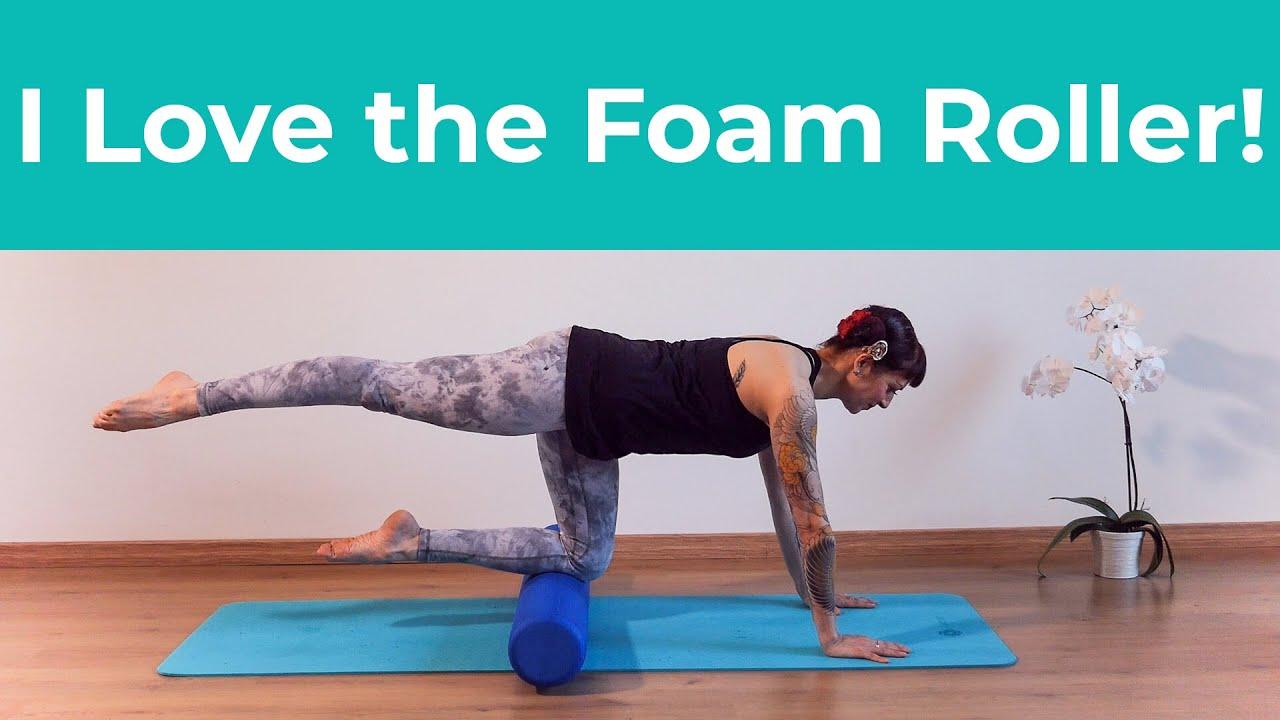 Pilates | I Love the Foam Roller!