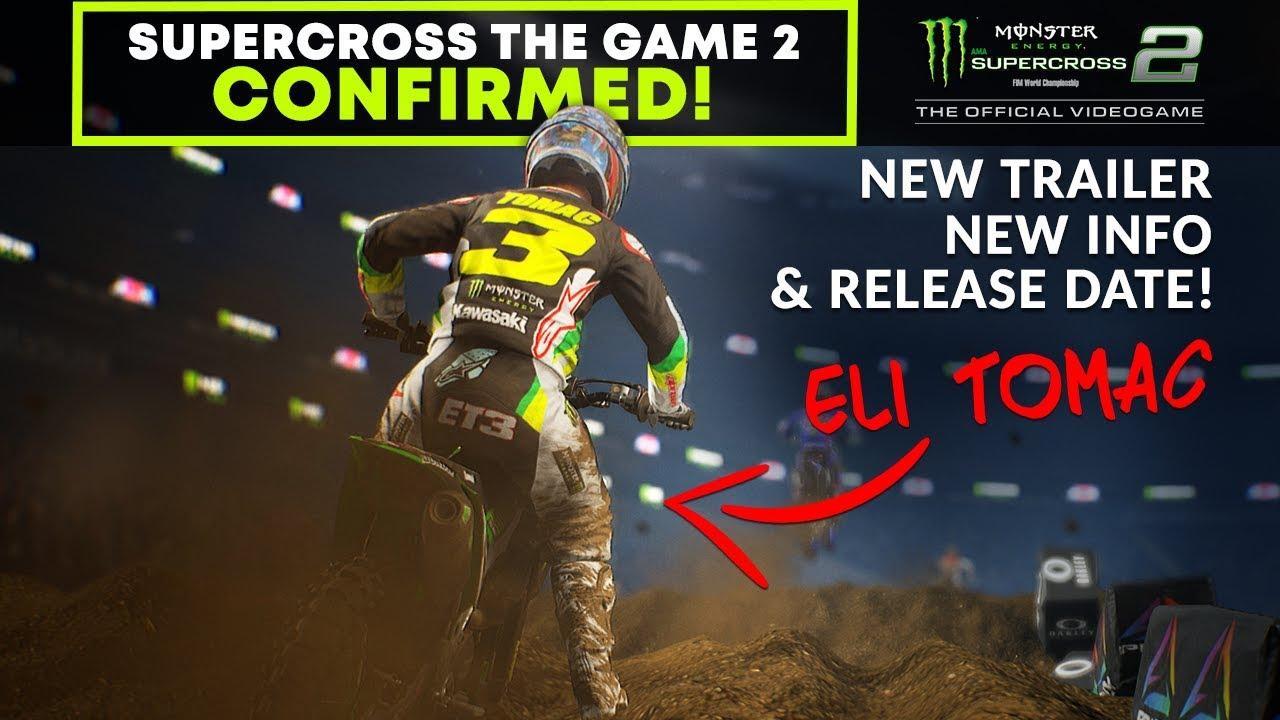 confirmed new monster energy supercross the game 2. Black Bedroom Furniture Sets. Home Design Ideas