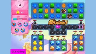 Candy Crush Saga Level 3451 11 moves 42 yellow