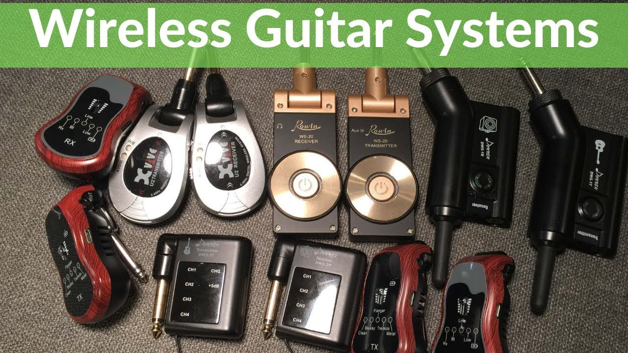 6 wireless guitar system reviews for 2019 xvive dooner rowin excelvan tonor youtube. Black Bedroom Furniture Sets. Home Design Ideas