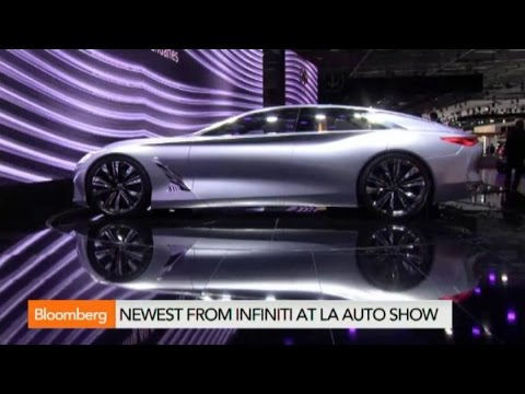 L.A. Auto Show:  Infiniti to Launch Q80 Inspiration Concept Car