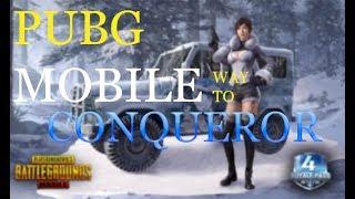 Conqueror Pe Jayenge Pubg Mobile Live