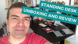 Standing Desk - Unboxing and Review AIMEZO 3