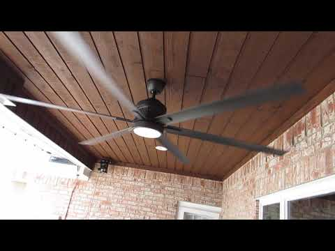Huge 120 Inch Patio Ceiling Fan Review