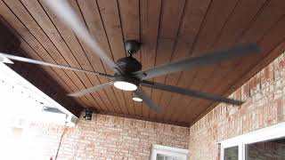 Huge 120 inch patio ceiling fan review