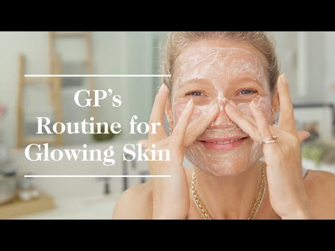 Gwyneth Paltrow's Skincare Routine for Glowing Skin with ASMR Intro  | Goop