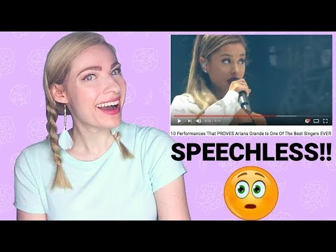 Professional ian Reaction to Ariana grande&39;s Best  Vocals Review