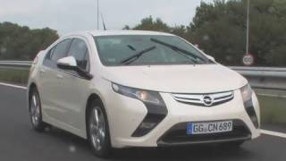 Opel Ampera pre-production review