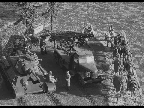 """🚨 The """"Seelow to Berlin"""" Diorama (making off) (WW2 1945) (Tanks & soldiers)"""