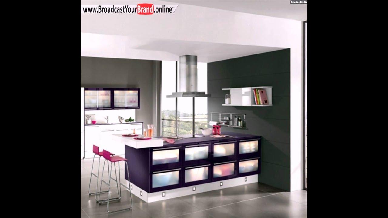 Süße küchen design idee lila rosa gestaltungselemente   youtube