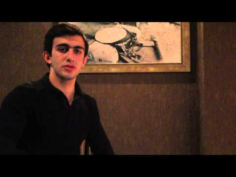Work and Travel (Azerbaijan) Interview Ceyhun Rzayev.