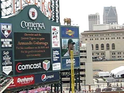 Armando Galarraga Is Surprised With a Corvette Before A Game (Perfect Game Aftermath)