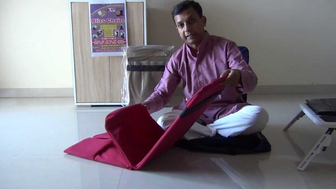 Bliss Chairs - Folding Procedures - Laptop/Meditation ...