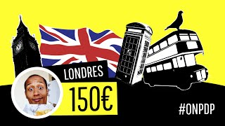Londres: le week-end pour 150€