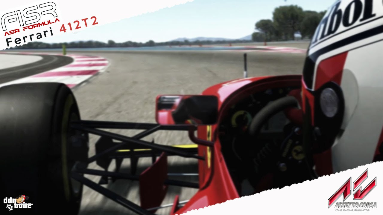 Ferrari 412 t2 previous image next image - Assetto Corsa Ferrari 412 T2 1995 Gerhard Berger Onboard Cam At Paul Ricard Youtube