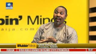 Rubbin Minds Entertainment Interview With Saheed Balogun Pt 1