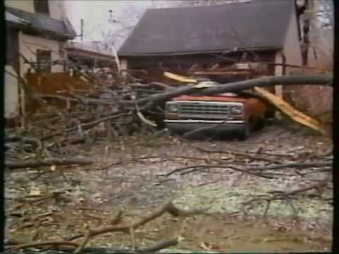 WOKR Ice Storm Coverage - Rochester, NY 1991