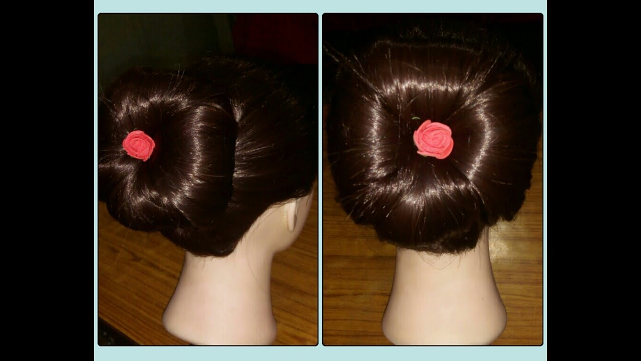 Party Hair Style Four Roll Jura Youtube
