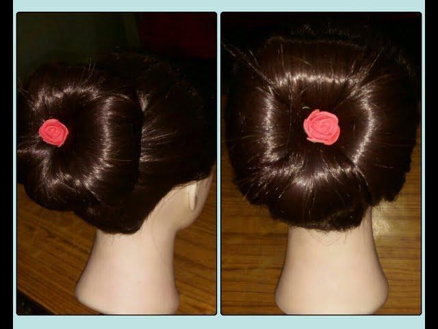 Party hair style ( four roll jura)
