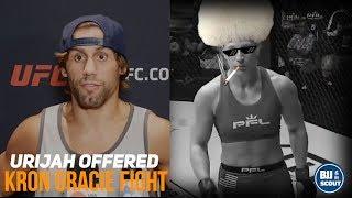 BJJ Digest: Urijah Faber Offered Kron Gracie fight, Grapplers win MMA & more