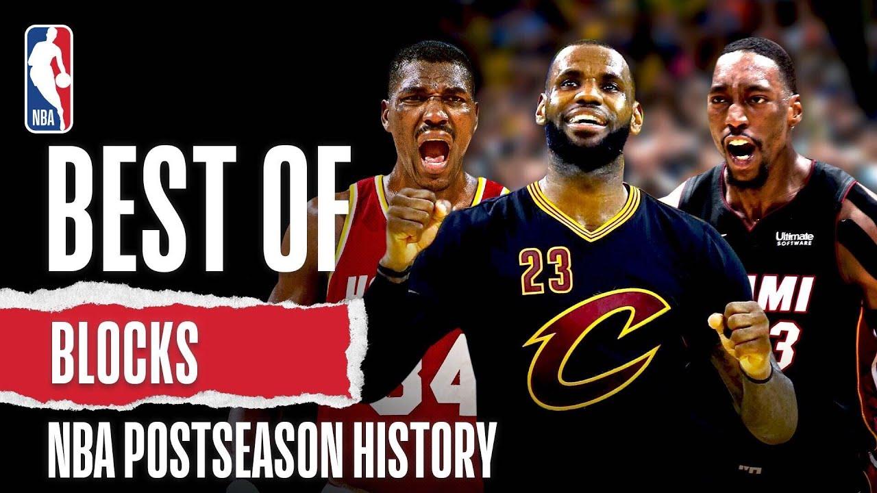 Best Of Blocks NBA Postseason History!