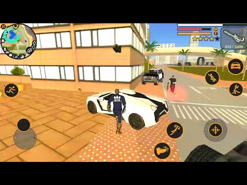 Vegas Crime Simulator Fastest Car Update (Naxeex LLC) Android Gameplay HD