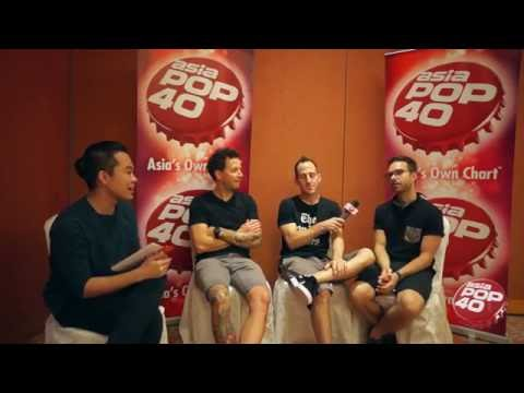 Simple Plan chat with Max Lim on Asia Pop 40