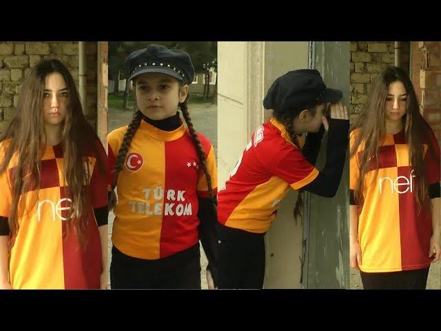 Galatasaray ve türk bayrağı sevdalısı Azeri kızı Nurdan inanılmaz hareketler || Sabrinanın peşinde