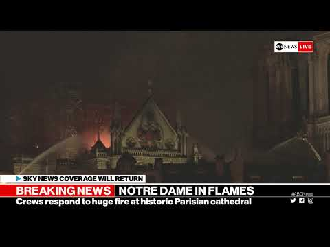Notre Dame cathedral in Paris on fire | LIVE ABC News Special Report