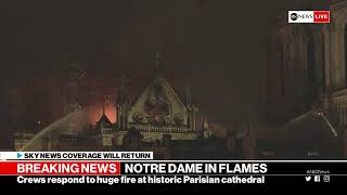 Notre Dame cathedral in Paris on fire | ABC News Special Report live stream