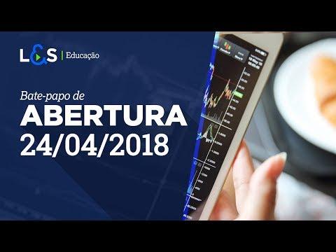 Bate-papo de Abertura - 24/04/2018   L&S...