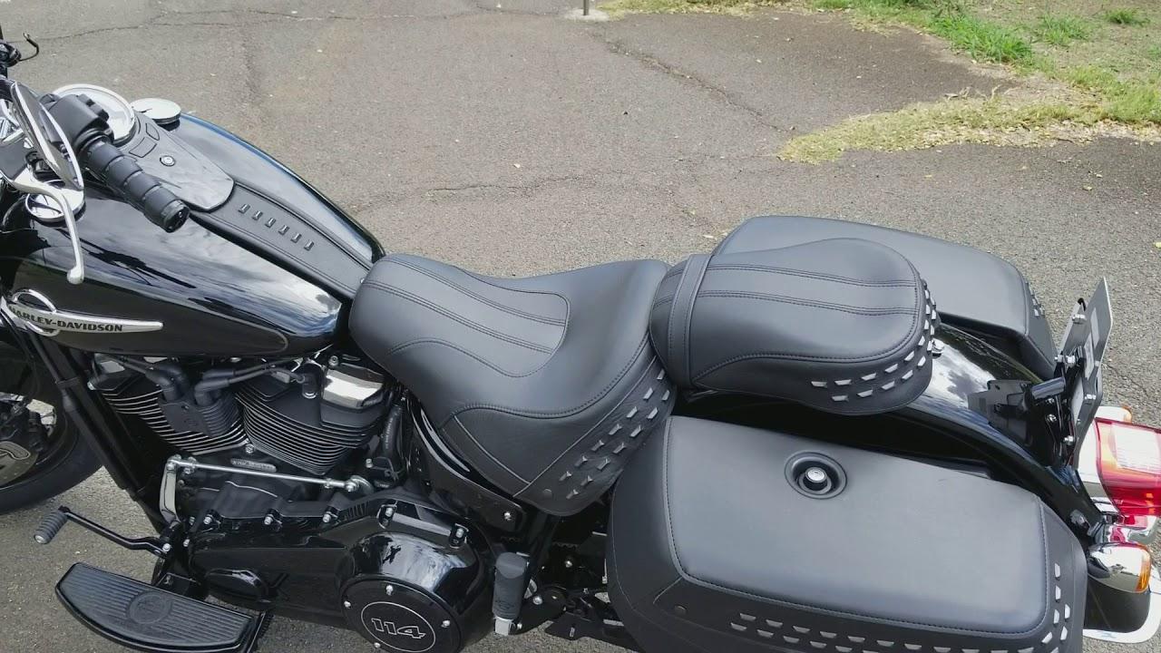 New 2018 Harley Davidson Heritage Softail - YouTube