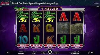 Break Da Bank Again Respin Microgaming Online Slot review